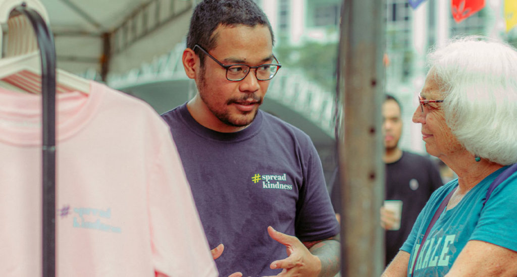 Brighter Communities founder and CEO Luis Baring