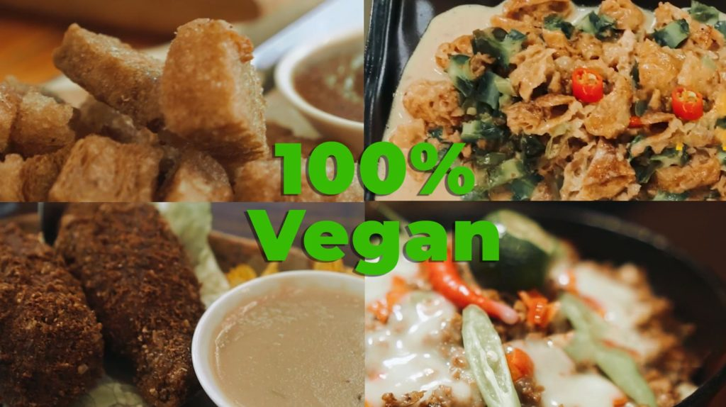 100% vegan food