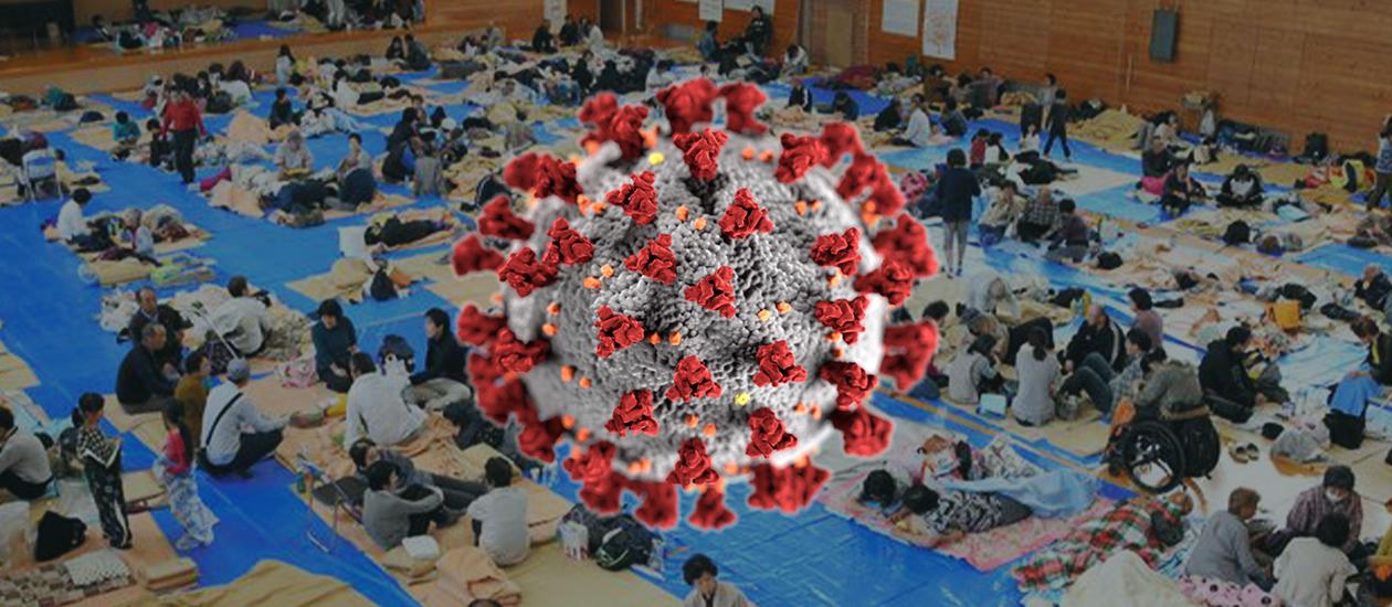 Artwork of coronvirus